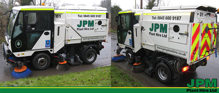 Scarab Road Sweeper Hire