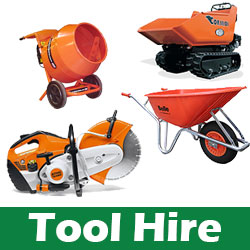 Tool hire North London, Hertfordshire & Essex