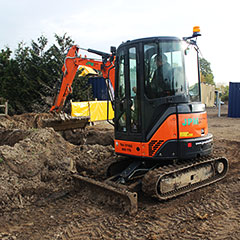Digger and Excavator hire