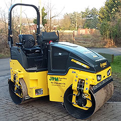 BOMAG Roller Hire