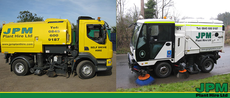 Contract hire road sweepers