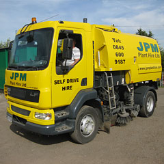 Johnston Road Sweeper Hire