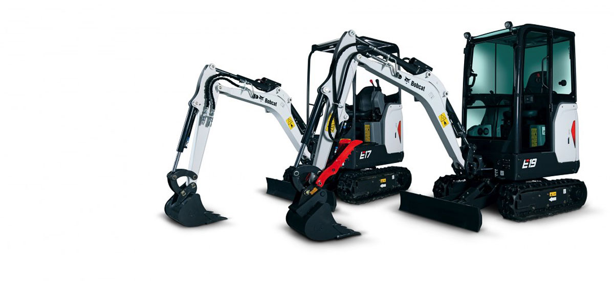 Contract hire diggers and excavators