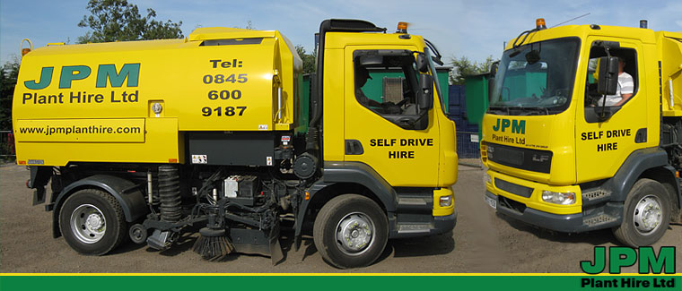Johnston road sweeper hire London