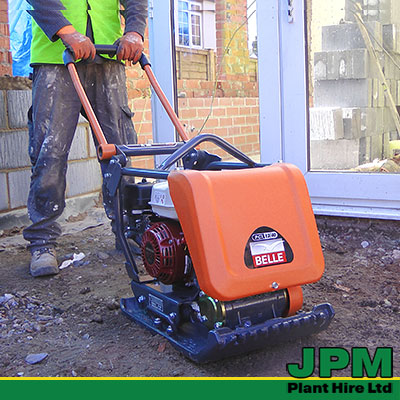 Belle Compactor Plate Hire