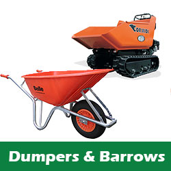 Tracked Dumper and Wheelbarrow hire