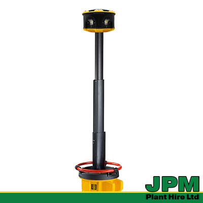 Defender LED Luminator Floodlight Tower hire