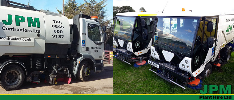Johnston and Scarab Road Sweeper Hire