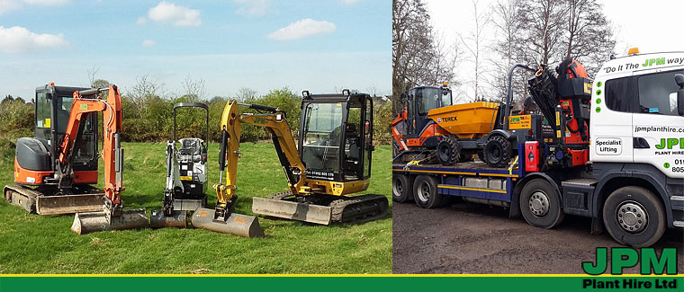 Digger and plant equipment hire in Barnet