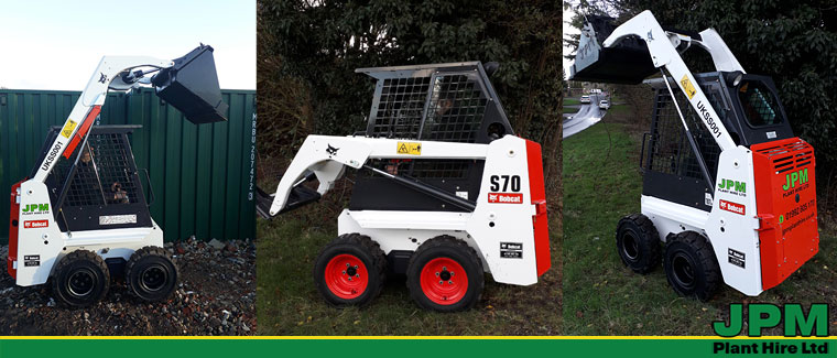 Bobcat S70 Skid Steer Hire