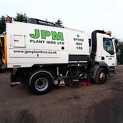 Johnston sweeper hire London