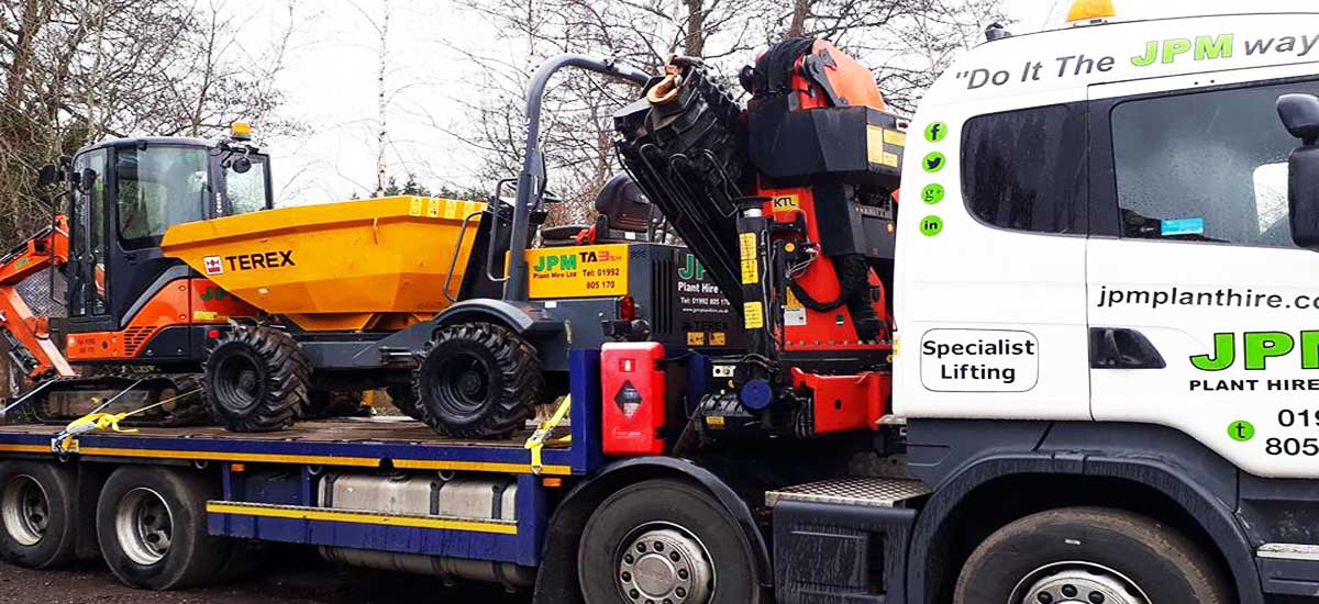 JPM Plant Hire deliveries