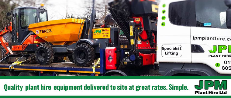 Plant hire in Enfield