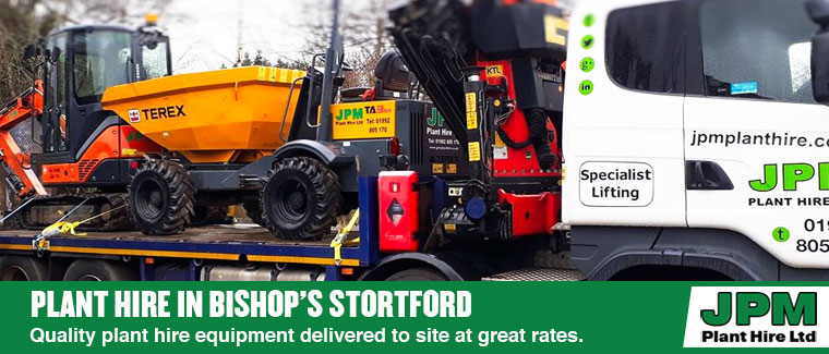 Plant hire in Bishop's Stortford